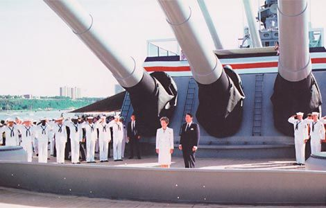 Ronald Reagan Aboard