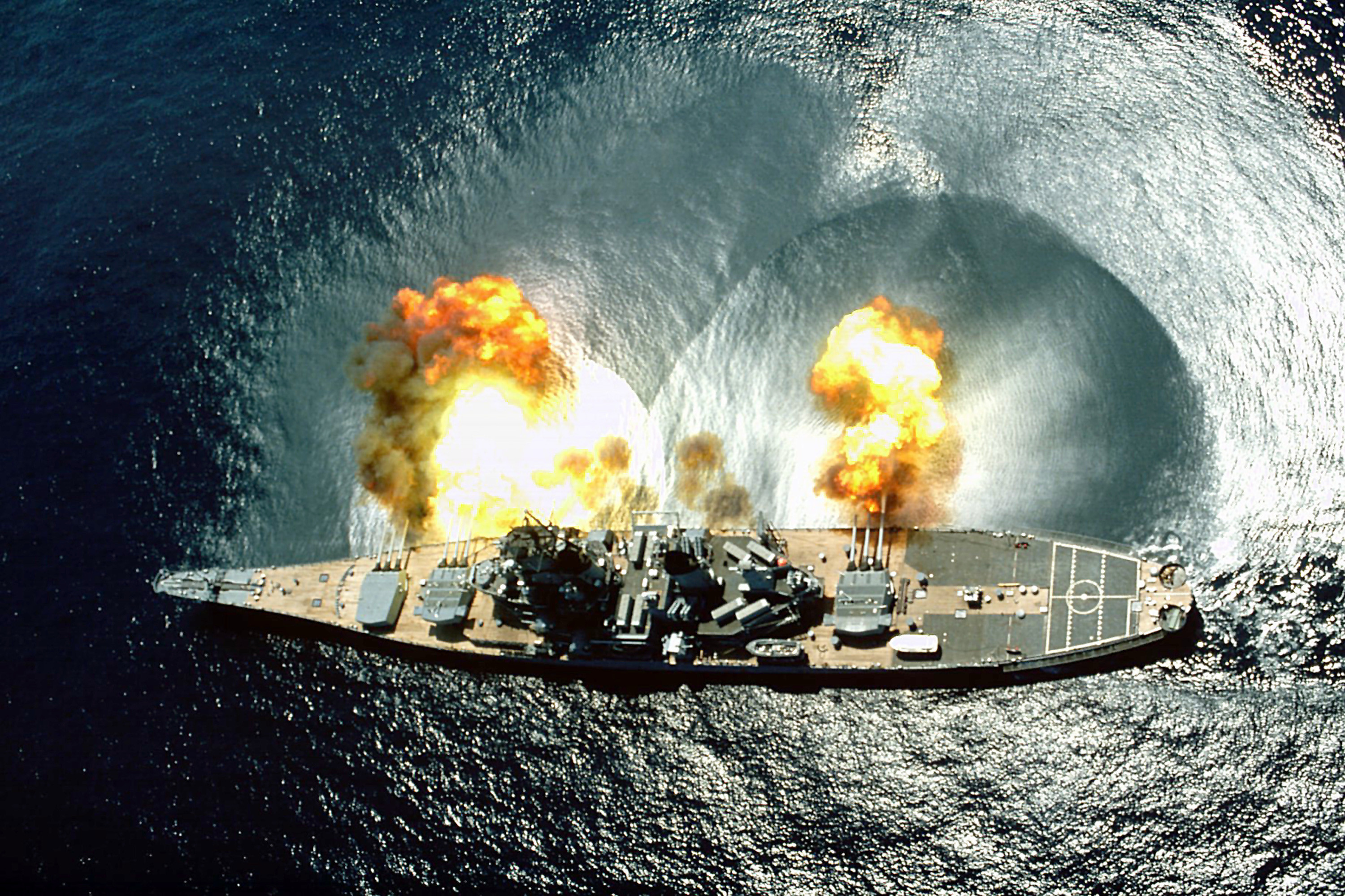 Battleship IOWA Museum Los Angeles shows the history of an iconic Naval ship.